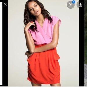 H & M color blocked dress